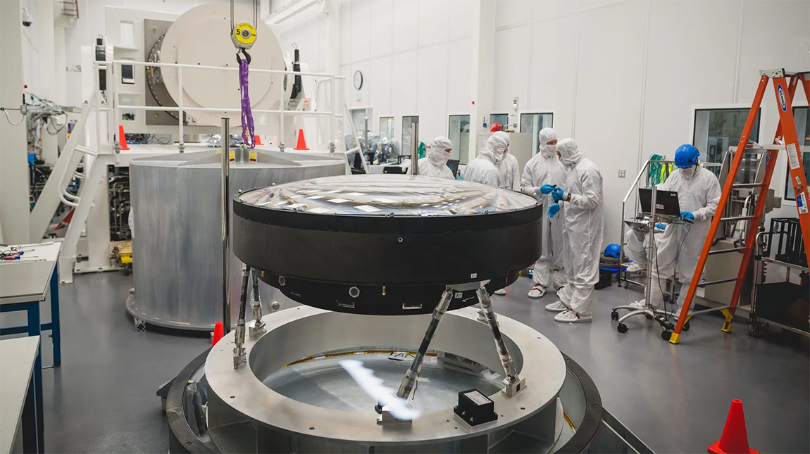 تعرف على عدسة تلسكوب LSST التي استغرقت 5 سنوات للتصنيع