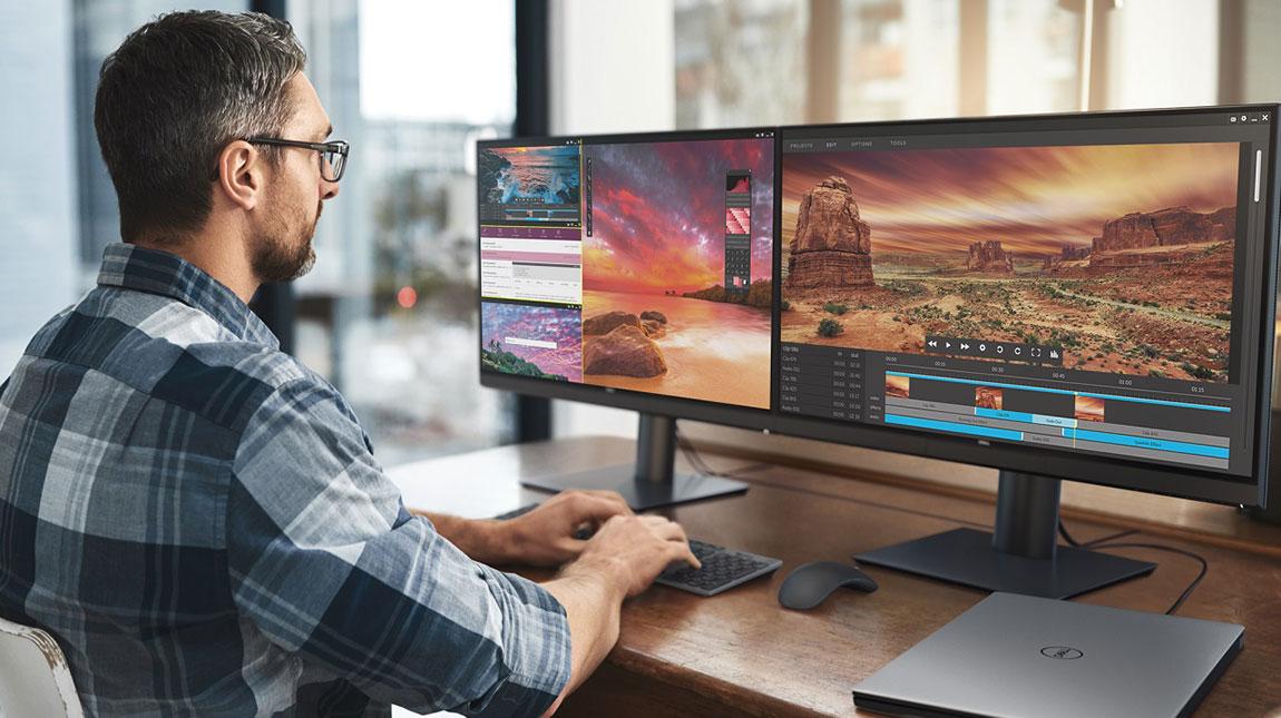 الاعلان عن Dell UP2720Q شاشة قياس 27 انش وبدقة 4K للمصممين ومحرري الفيديو