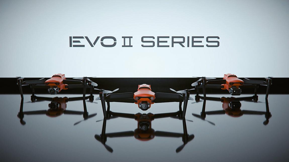 الإعلان عن Autel EVO II درون للتصوير الفوتوغرافي وتصوير الفيديو بدقة 8K