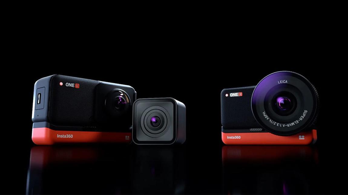 اطلاق كاميرا Insta360 ONE R لتصوير فيديو ٣٦٠ درجة بدقة 5.3K