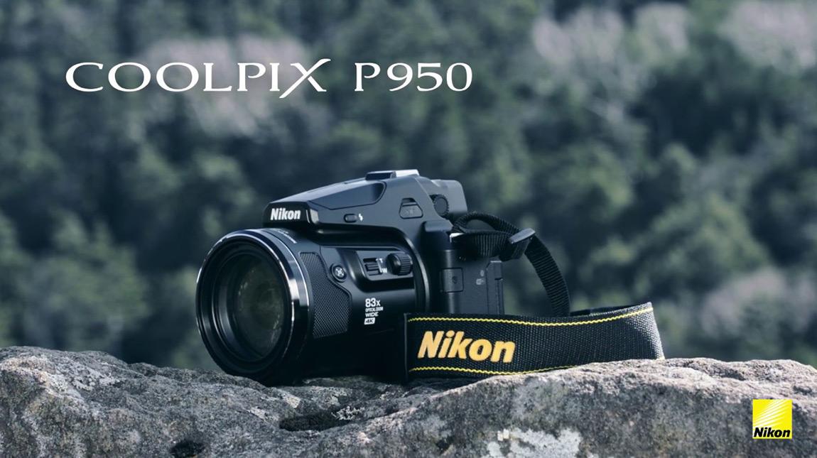 الاعلان عن كاميرا Nikon P950 بتصوير 4K بالإضافة الى عدستي زوم