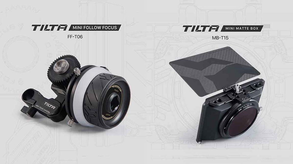 Tilta تطلق Mini Matte Box و Mini Follow Focus لكاميرات ميرورليس و DSLR