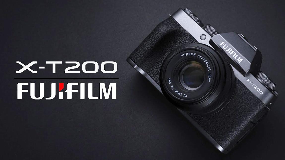 الإعلان عن Fujifilm X-T200 كاميرا كروب فريم بتصوير 4K بسعر منخفض