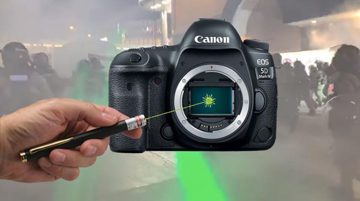 شاهد بنفسك | هل تعرض الكاميرا الى ضوء الليزر يؤدي الى تلفها؟