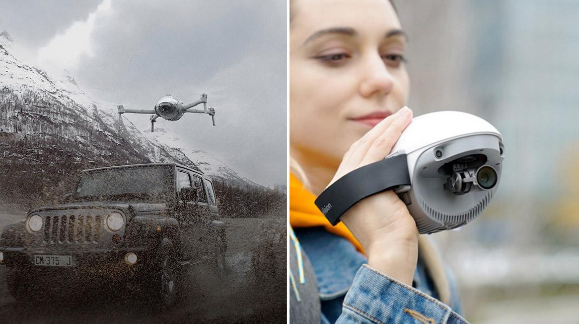 تعرف على PowerEgg X طائرة درون وكاميرا بذكاء اصطناعي وكاميرا محمولة باليد