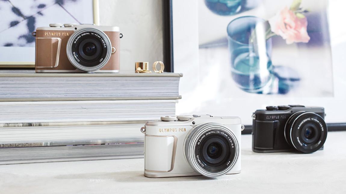 الاعلان عن Olympus PEN E-PL10 كاميرا ميرورليس بمستشعر 16 ميجابكسل وتصوير 4K