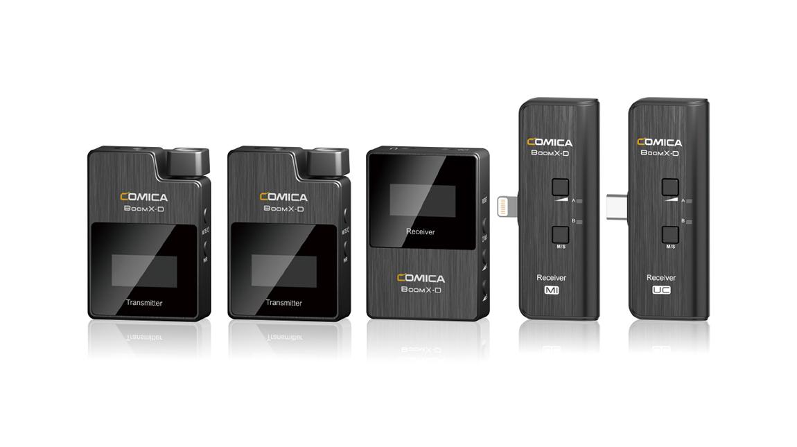 الاعلان عن Comica BoomX-D نظام ميكروفون لاسلكي للكاميرات والهواتف الذكية