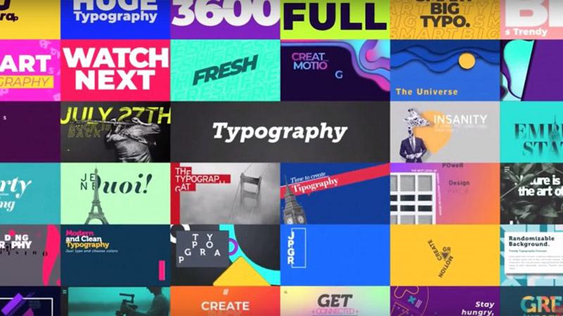 مجموعة Create Pack لتسريع صناعة المحتوى والموشن جرافيك في افتر افكت