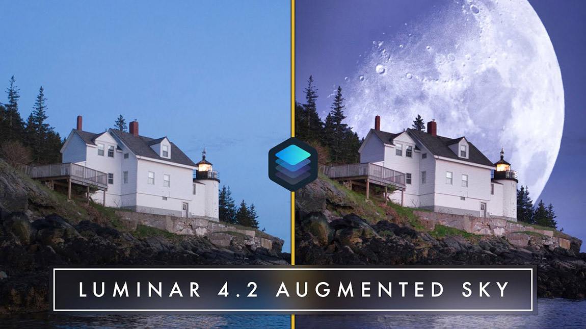 اطلاق Luminar 4.2 مع ميزة AI Augmented Sky للتلاعب بالصور باستخدام الذكاء الاصطناعي