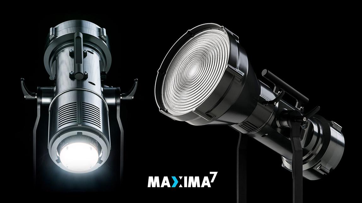 الاعلان عن Maxima 7 ضوء ال اي دي بقوة 1200 واط للتصوير السينمائي
