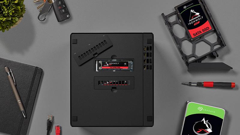 سيجيت تعلن عن IronWolf 510 وحدة تخزين احترافية لمحرري الفيديو وصناع الافلام