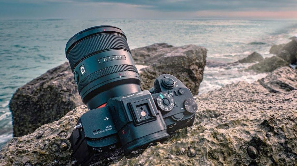 الاعلان عن Sony FE 20mm f1.8 عدسة وايد انجل لكاميرات سوني فل فريم