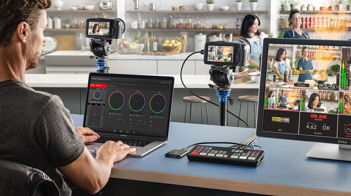 بلاك ماجيك تعلن عن ATEM Mini Pro ميكسر لبث وتسجيل الفيديو من عدة كاميرات