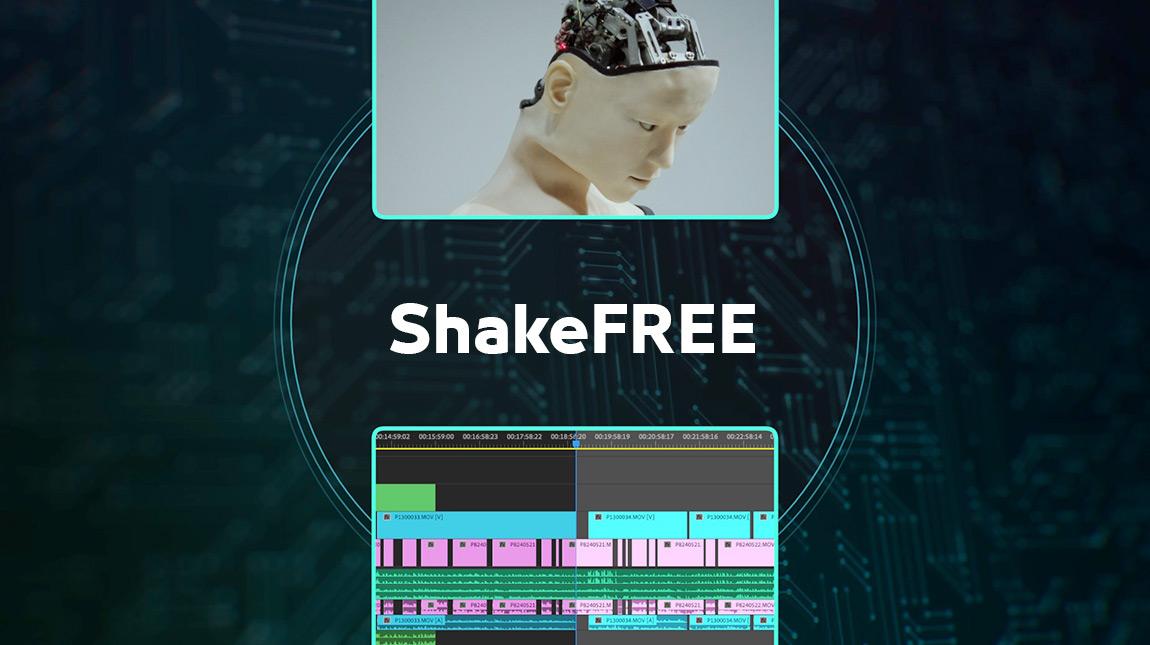 اضافة ShakeFREE لإزالة اللقطات عديمة الفائدة في مشروع المونتاج عن طريق الذكاء الاصطناعي
