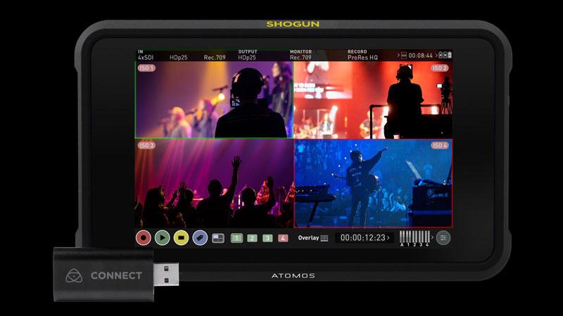 أداة Atomos Connect لبث الفيديو بدقة 4K من الكاميرا عبر USB
